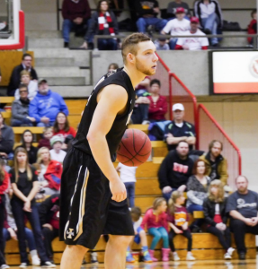 Connor Hill in the Jan. 31 game against Eastern Washington in Cheney.  Jay Anderson Vandal Nation