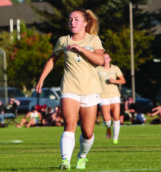 Freshman Myah Merino's club soccer team placed third at Nationals in July.