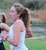 Senior Halie Raudenbush competes in the Clash of the Inland Northwest Sept. 1 in Moscow.
