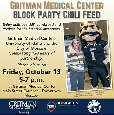 Gritman Black Party Chili Feed